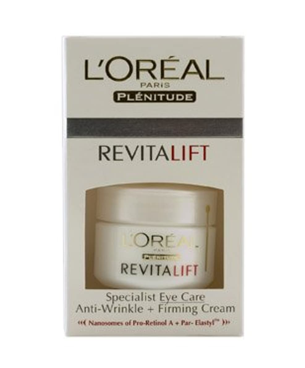 写真を描く落ち着いた便利さLOreal Dermo-Expertise Revitalift Eye Pot - Unboxed (15ml)