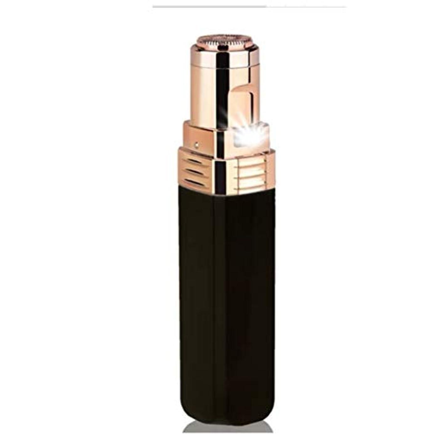 ぜいたく利益上流の頬、唇、あご、首、防水、電池式に適した女性の顔の毛の脱毛剤のための女性の顔の毛の除去剤、,Black