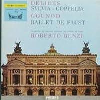 【※CDではありません】ドリーブ:バレエ組曲「シルヴィア」,「コッペリア」,グノー:バレエ音楽「ファウスト」【中古LP】