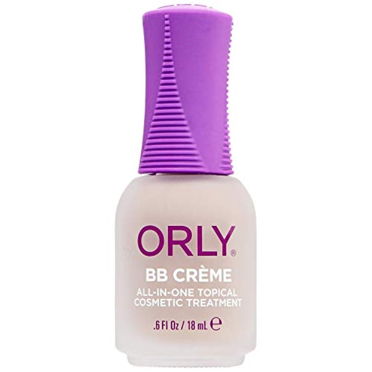 デクリメント神話攻撃Orly BB Creme - Makeup + Treatment for Nails - Barely Taupe - 18ml / 0.6oz