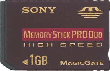 SONY ニュー・メモリースティックPROデュオ(Hi-Speed) MSX-M1GN 1GB