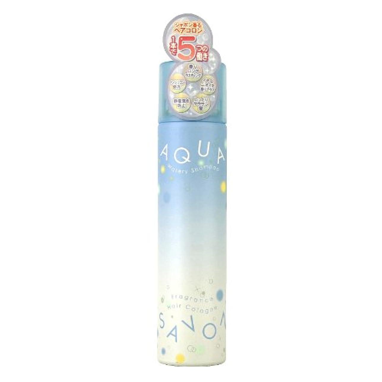 欺くマークされた元のアクアシャボン ヘアコロン13A ウォータリーシャンプーの香り 80g