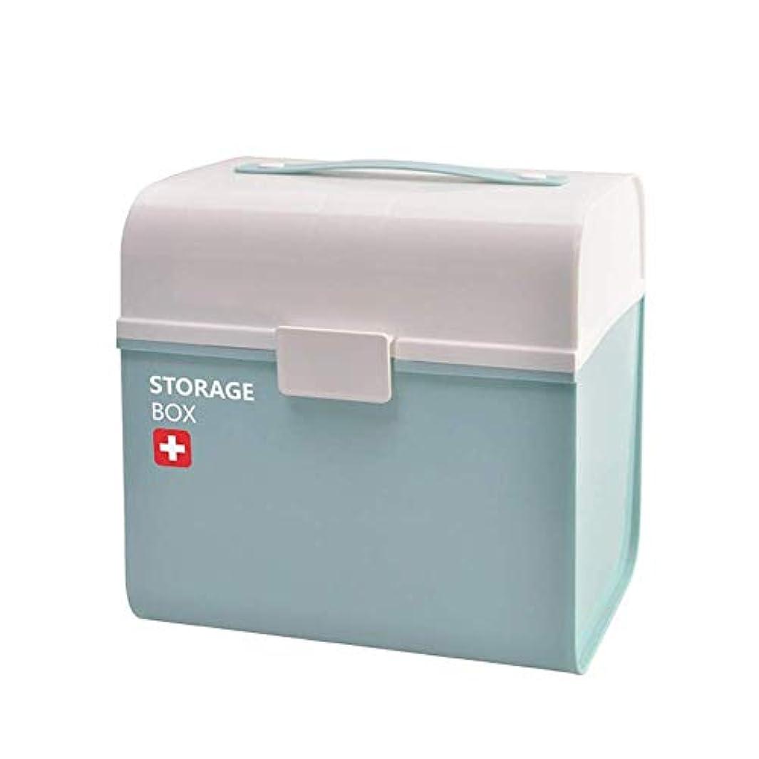 束教科書無力Yxsd 応急処置キット 薬箱家族薬箱大サイズ子供救急箱薬収納キャビネットホーム小型医療箱