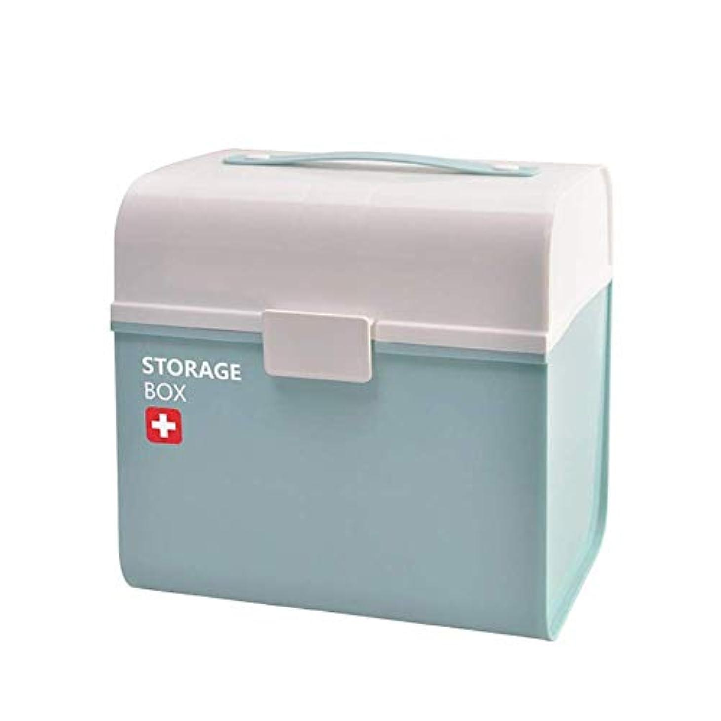 省略受信機進化JJJJD 薬箱家族薬箱大サイズ子供救急箱薬収納キャビネットホーム小型医療箱