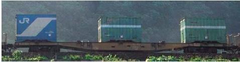 TOMIX HOゲージ HO-721 JR貨車 コキ350000形 (コンテナなし)