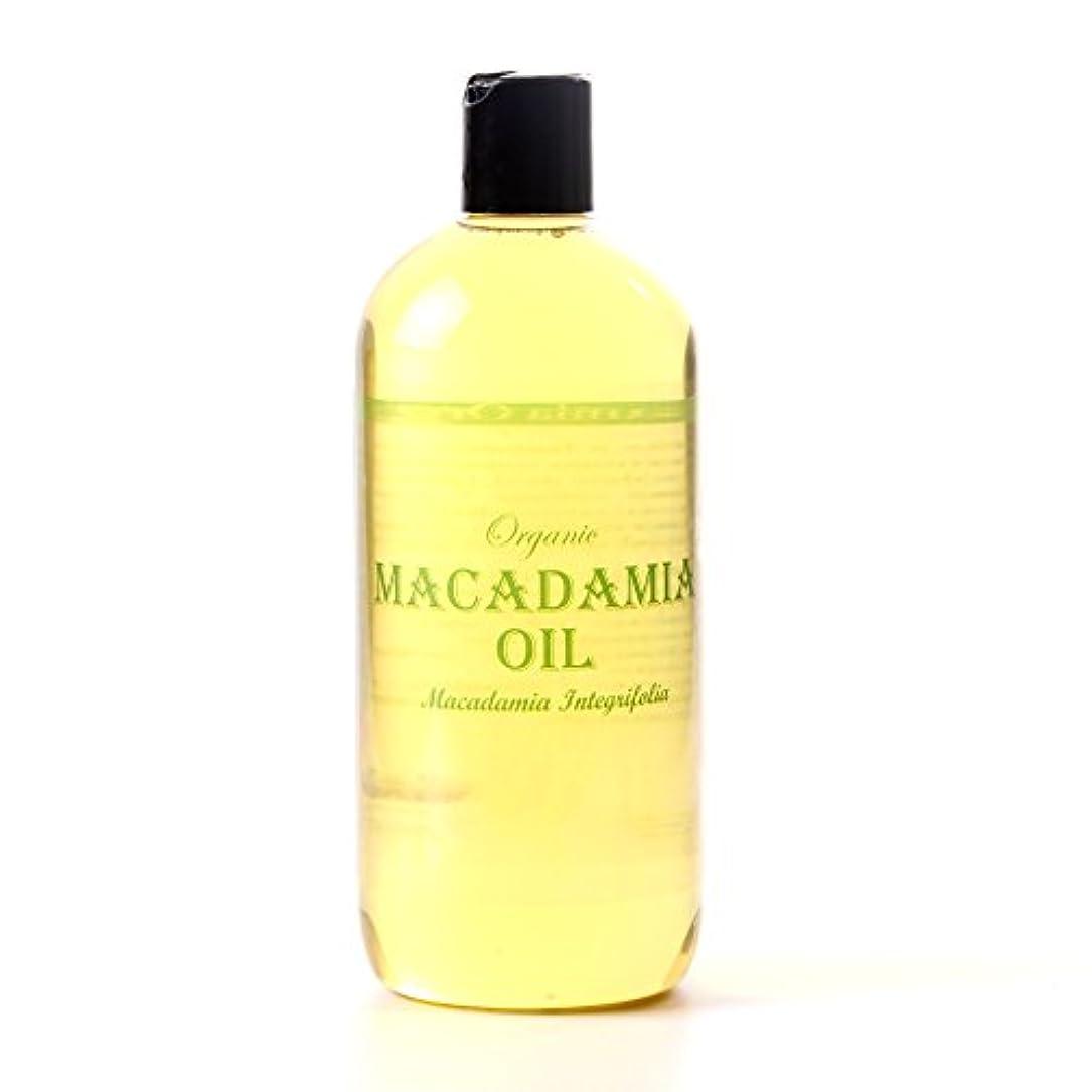 自我仕事に行くモノグラフMystic Moments   Macadamia Organic Carrier Oil - 500ml - 100% Pure