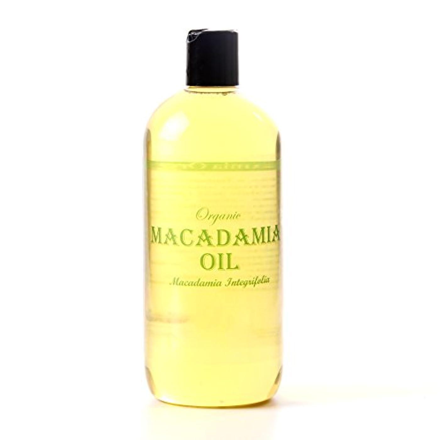 傘鎮静剤鉱夫Mystic Moments | Macadamia Organic Carrier Oil - 500ml - 100% Pure