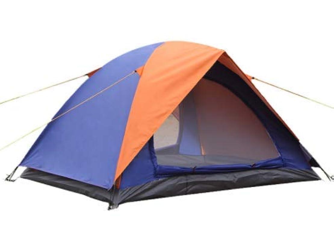 ペルー担当者再びNasou 屋外キャンプテントダブルデッキダブルドアフィールドテントビーチ野生のダブルツーリストのテント