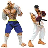 Street Fighter - Round 1: Hyper Roto Figures Ryu & Sagat