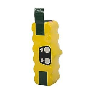Dhe store irobot ルンバ バッテリー 14.4V 掃除機 互換バッテリー500・600・700・800シリーズ対応 一年保証 ニッケル水素