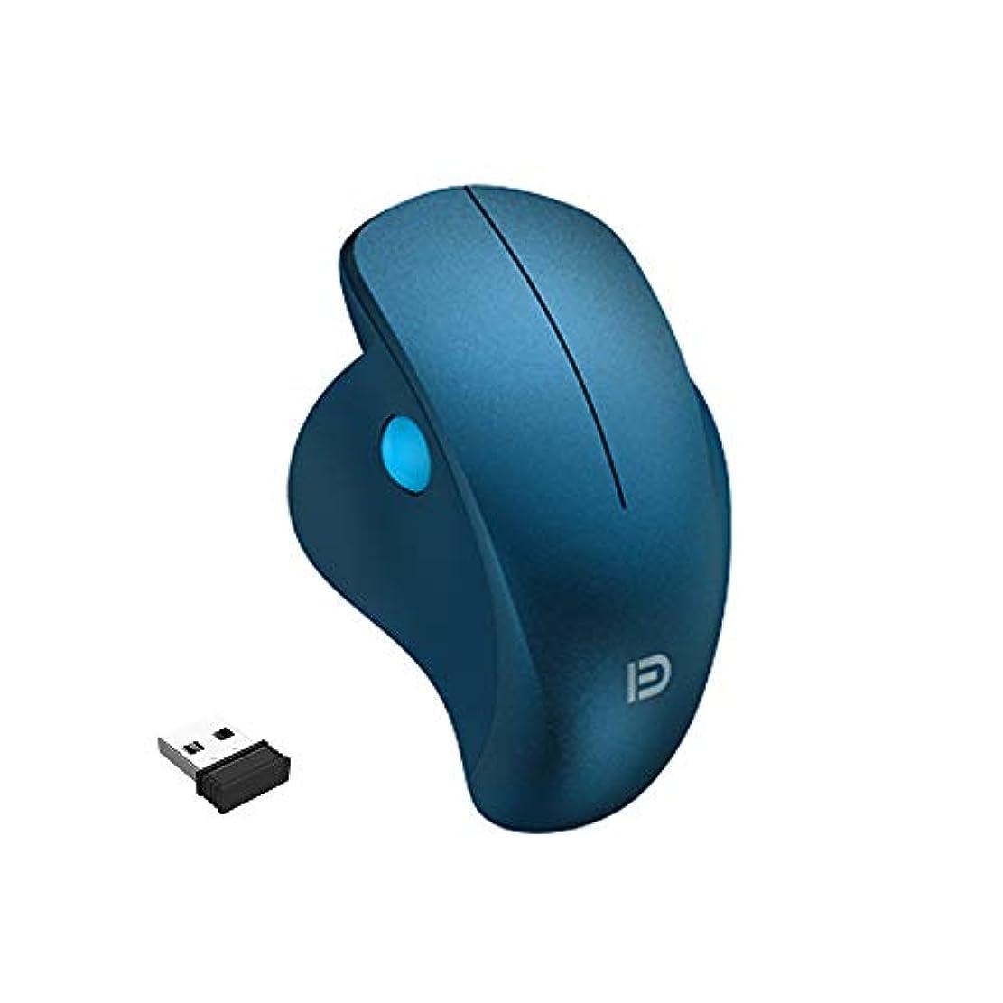 ビート司法独裁者ワイヤレスマウス Attoe 2.4G ワイヤレスノートパソコンマウス サイドローラーホイール付き 20m接続距離 サイレント人間工学ワイヤレスマウス Mac OS/Windows用 AT-i903