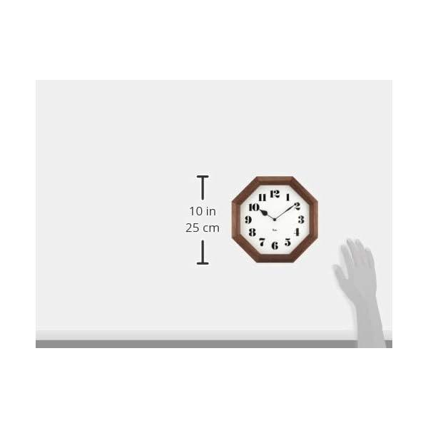 Lemnos (レムノス) 掛け時計 ブラウン...の紹介画像5