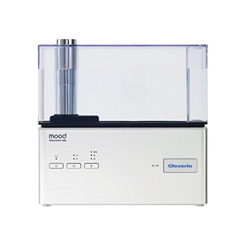 ムード 加湿器 超音波式 クレベリン LED搭載 シルバー KMWQ-301C