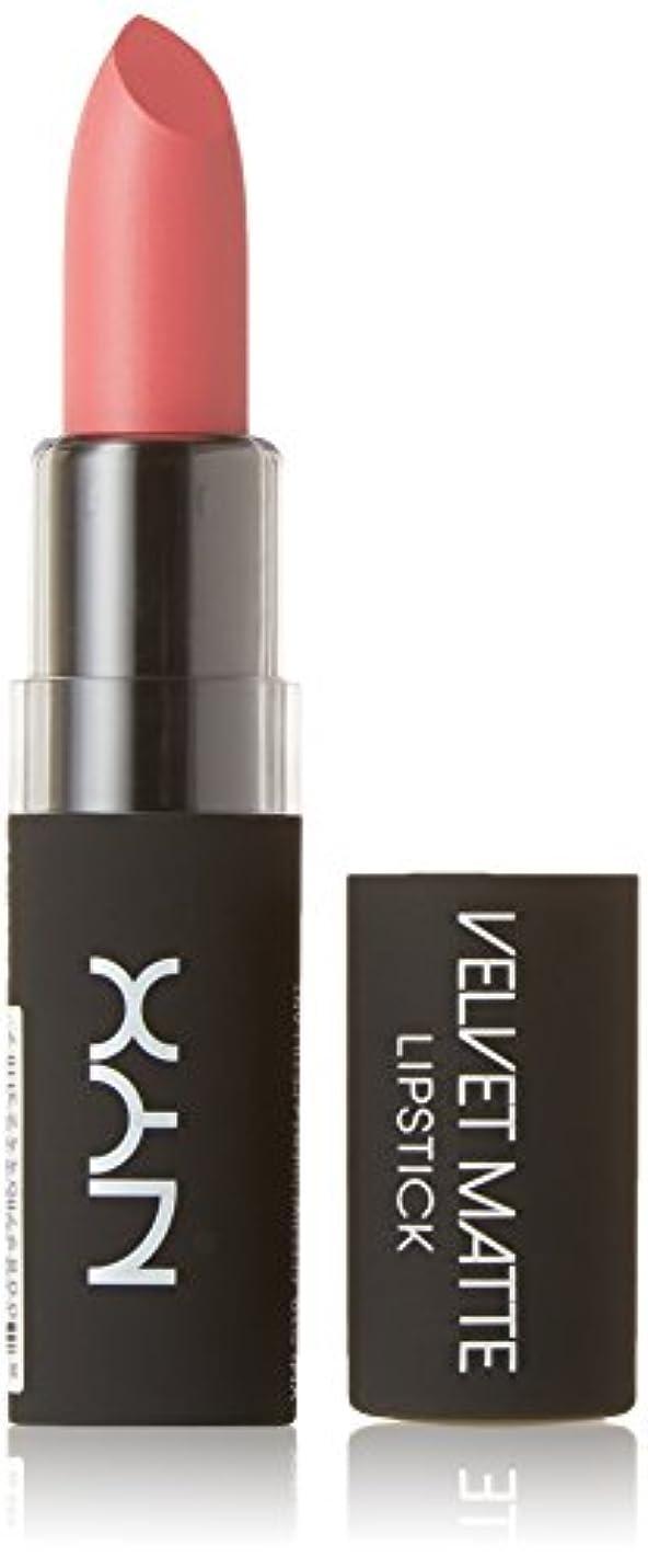 技術的な費用コウモリNYX Professional Make-Up Velvet Matte Lipstick 4.5g-10 Effervescent