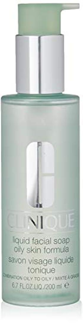 電気的最大化する単なるCLINIQUE クリニーク リキッド フェーシャルソープ オイリー 200ml [並行輸入品]