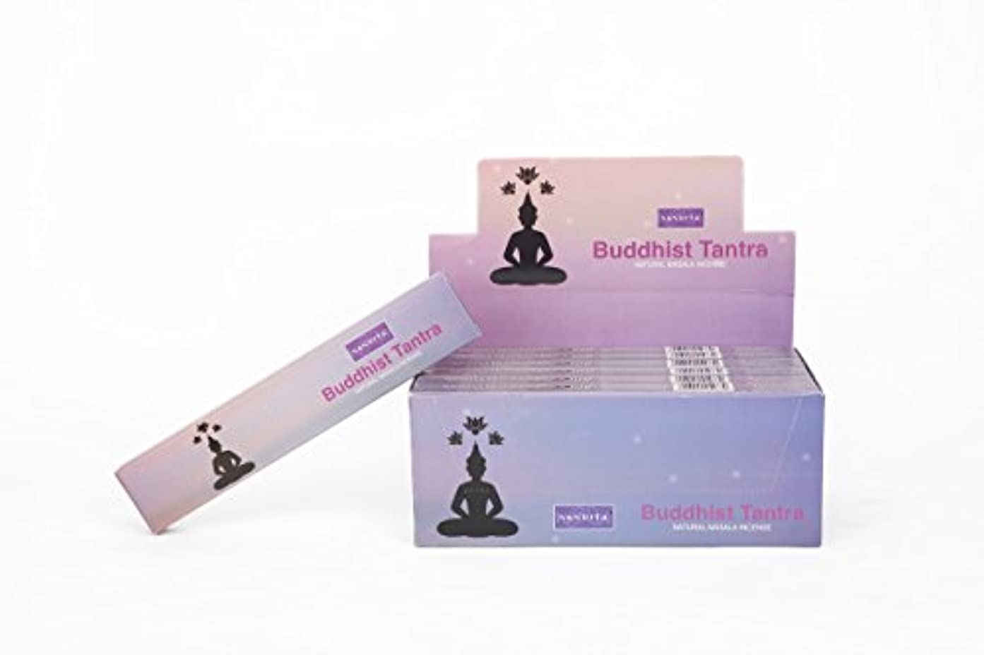 暫定の経過免疫Nandita Fragrance Buddhist Tantra Incense Sticks (Quê H??ng) 12 x 15 gm