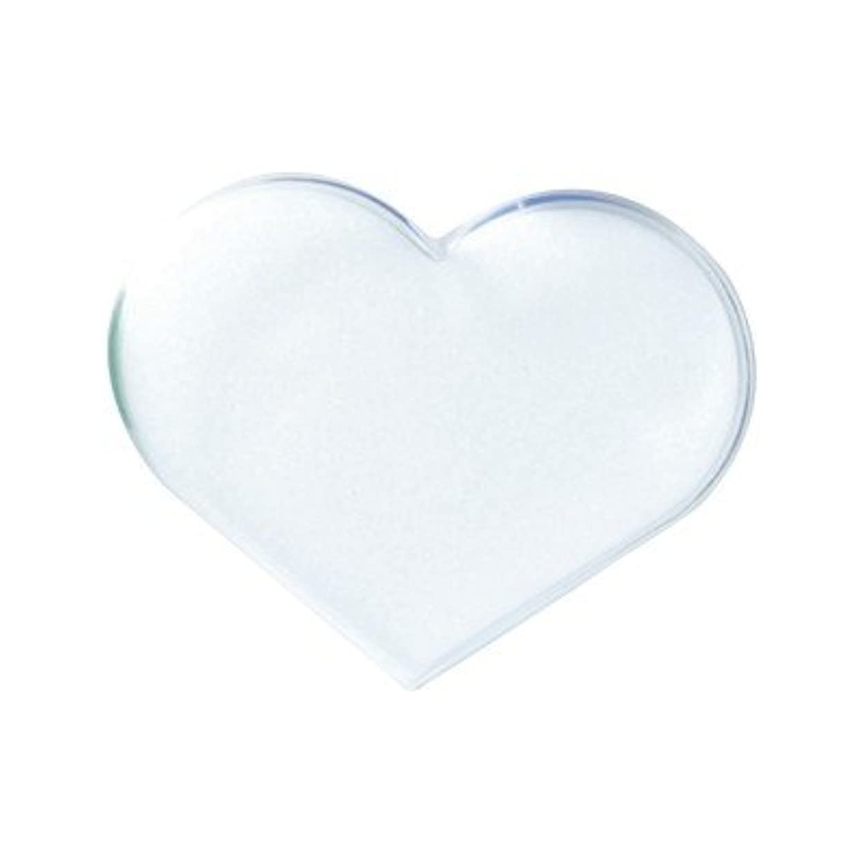 袋くすぐったい排気POSH ART ハートチップケース ホワイト