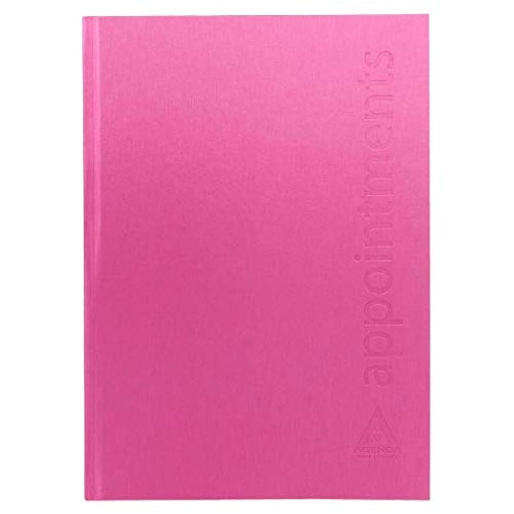 チーフ基本的な印刷するアジェンダ サロンコンセプト 美容アポイントブック6アシスタントホットピンク[海外直送品] [並行輸入品]