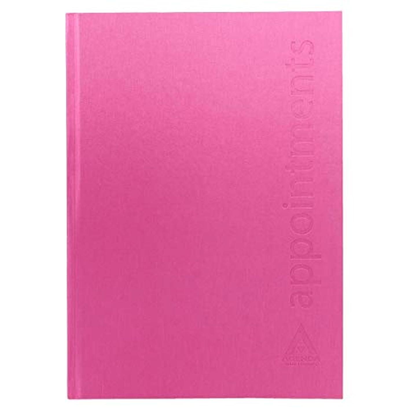 現れる着飾る入力アジェンダ サロンコンセプト 美容アポイントブック6アシスタントホットピンク[海外直送品] [並行輸入品]