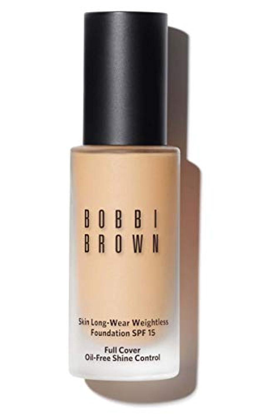 量私たちの暴露するボビイ ブラウン Skin Long Wear Weightless Foundation SPF 15 - # Ivory 30ml/1oz並行輸入品