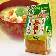ますやみそ 香る母さんの味 合わせみそ 750g 【大麦、大豆、食塩 国産100%使用】