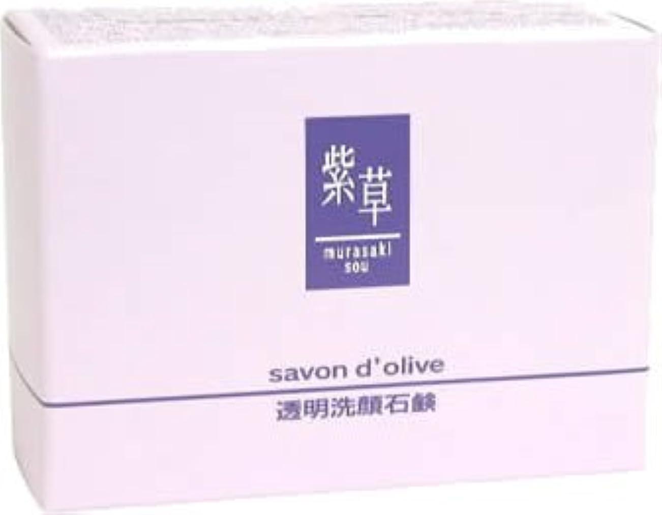 良心安価な正当な紫草 サボンドリーブ(洗顔)