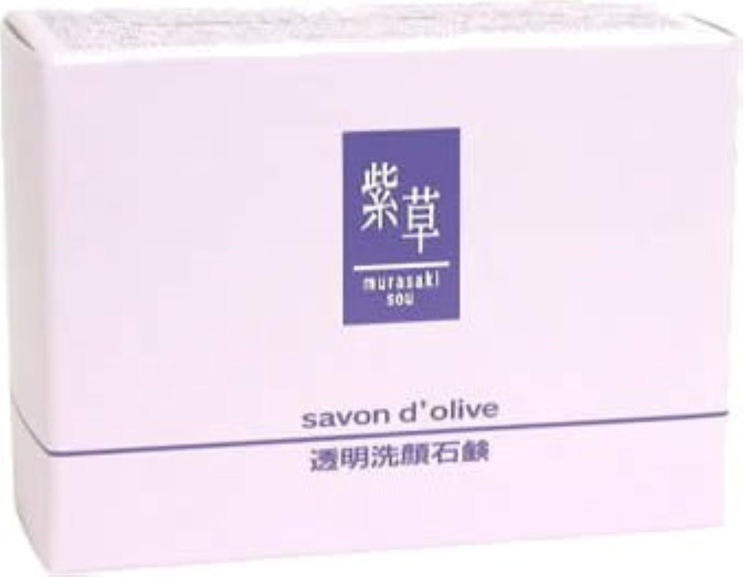 小さな充電博物館紫草 サボンドリーブ(洗顔)