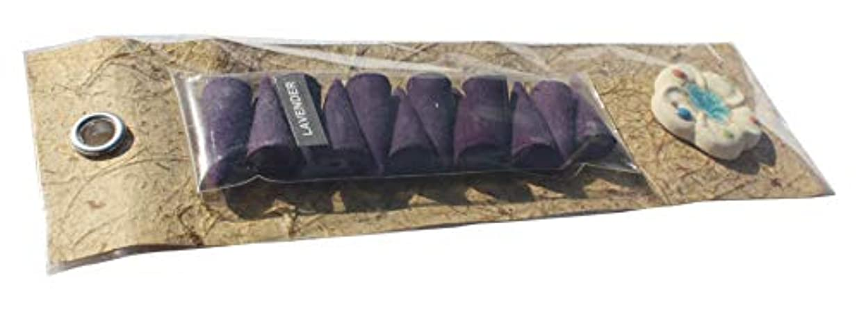 Full Funk 天然香り インセンスコーン ギフトパック 12個入り セラミックホルダー Pack of 12 cones パープル item971960AMZ