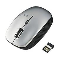 エレコム ワイヤレスBlueLEDマウス/5ボタン/シルバー M-BL21DBSV AV デジモノ パソコン 周辺機器 その他のパソコン 周辺機器 top1-ds-1945871-ah [簡素パッケージ品]