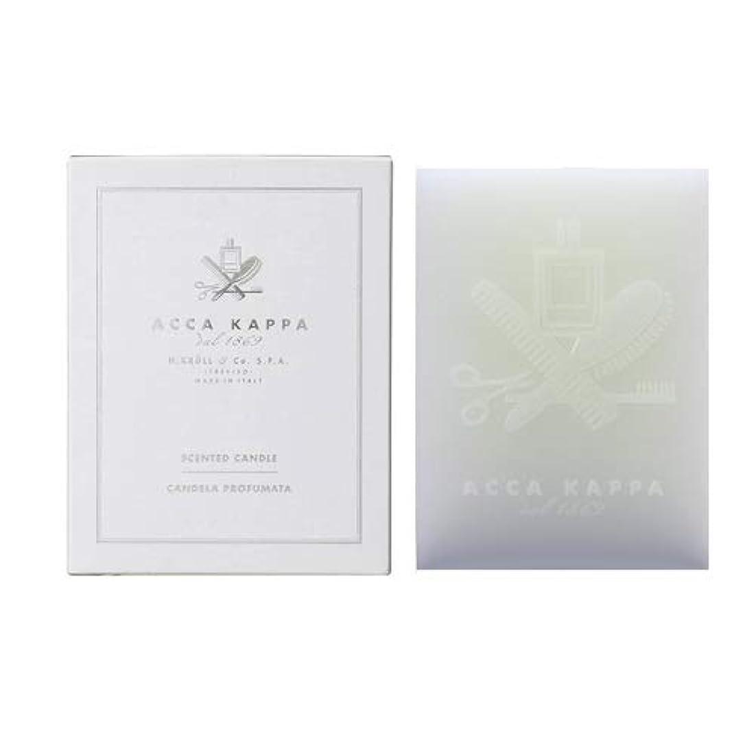 ためらうマート有毒【アッカカッパ】ホワイトモスキャンドル 1000g