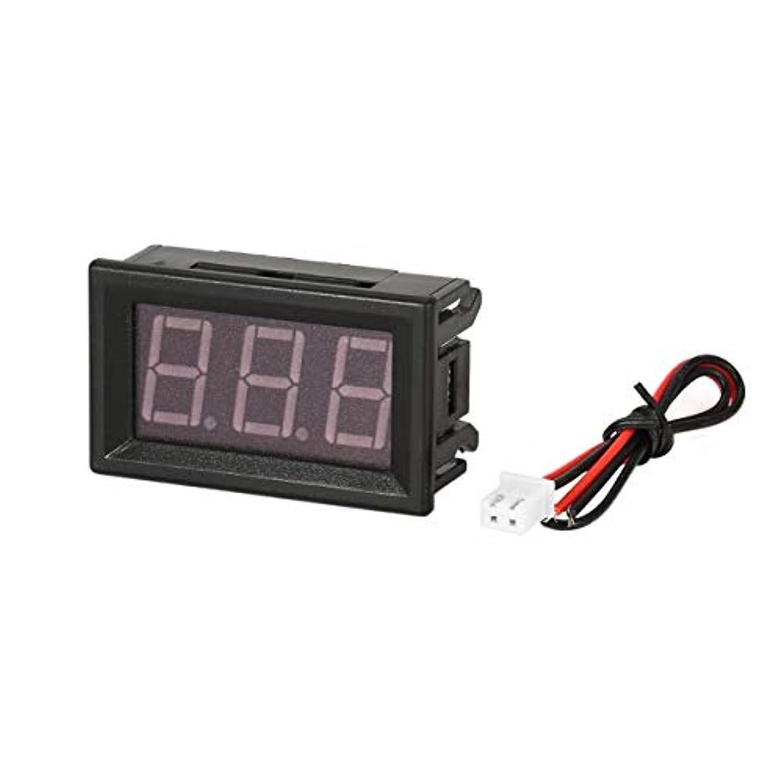 軽食概念然とした5-130V 0.56in 3線式LEDデジタルパネル電圧計電圧計カーボルトテスター