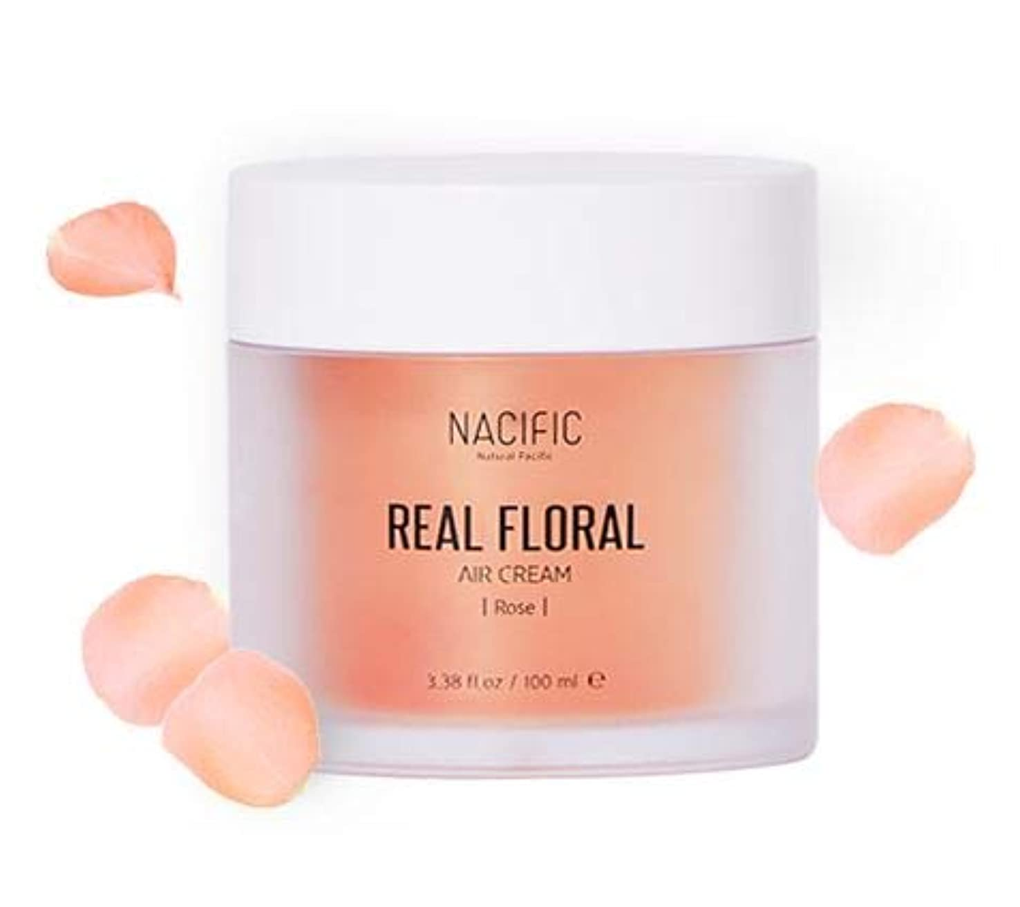 死すべき日食興味[ NACIFIC ] Real Rose Floral Air Cream 100ml (Rose) / [ナシフィック] リアル (ローズ エア クリーム) 100ml [並行輸入品]
