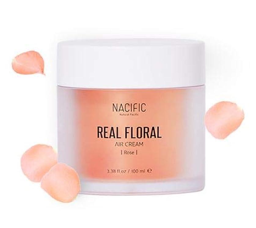 定刻雨の物理的な[ NACIFIC ] Real Rose Floral Air Cream 100ml (Rose) / [ナシフィック] リアル (ローズ エア クリーム) 100ml [並行輸入品]