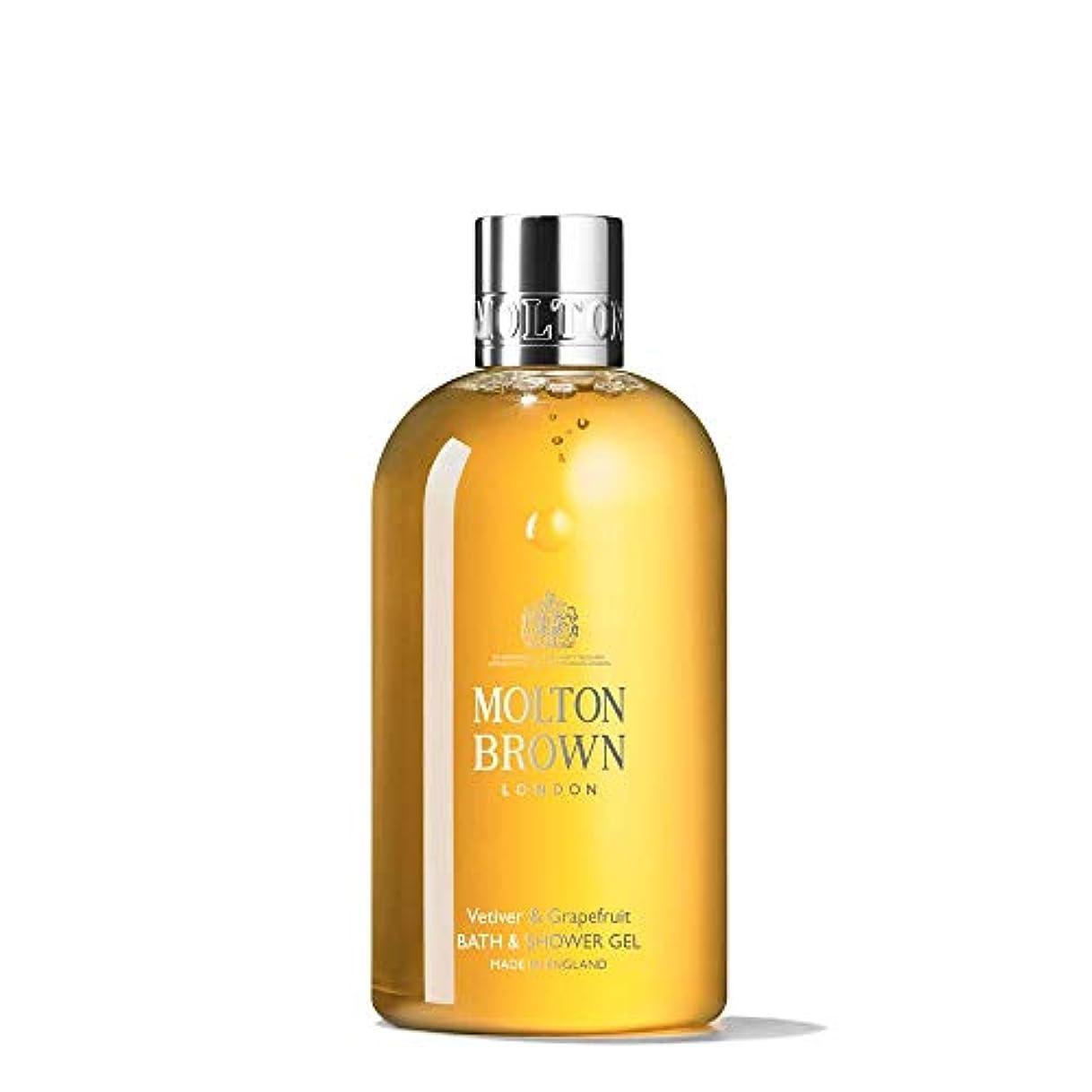 添加剤恐ろしい涙が出るMOLTON BROWN(モルトンブラウン) ベチバー&グレープフルーツ コレクション V&G バス&シャワージェル