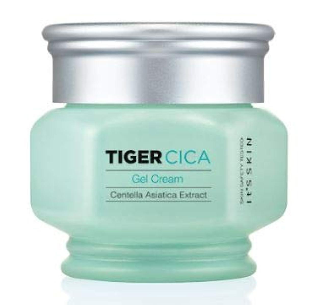 シアー真夜中ベルベット[It's Skin] Tiger Cica Gel Cream /[イッツスキン] タイガーシカ ジェル クリーム [並行輸入品]