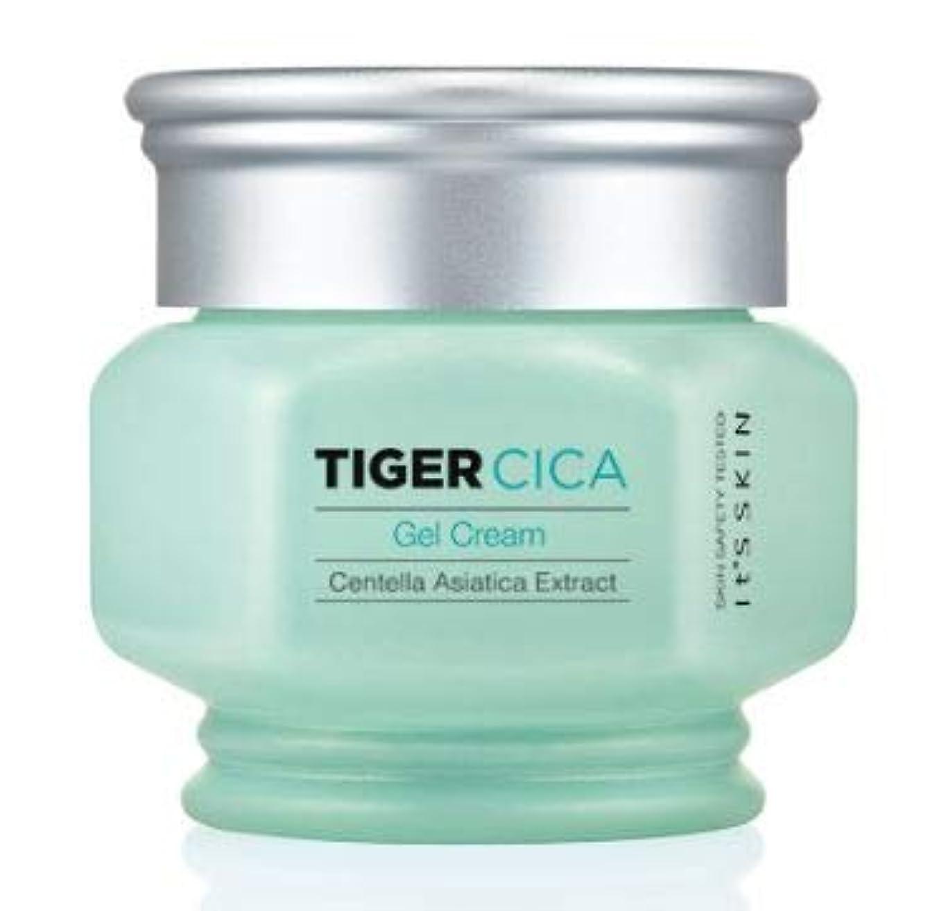の頭の上無駄密接に[It's Skin] Tiger Cica Gel Cream /[イッツスキン] タイガーシカ ジェル クリーム [並行輸入品]