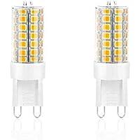 MAKER G9 LED電球 G9口金 高輝度 3W 350lm 35Wハロゲンランプ相当 電球色3000K 調光可能 AC110-130V 全光束 (2個入り)