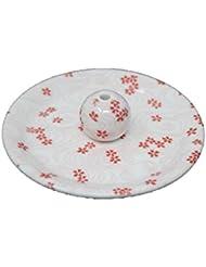 9-34 桜渦 9cm香皿 お香立て お香たて 陶器 日本製 製造?直売品