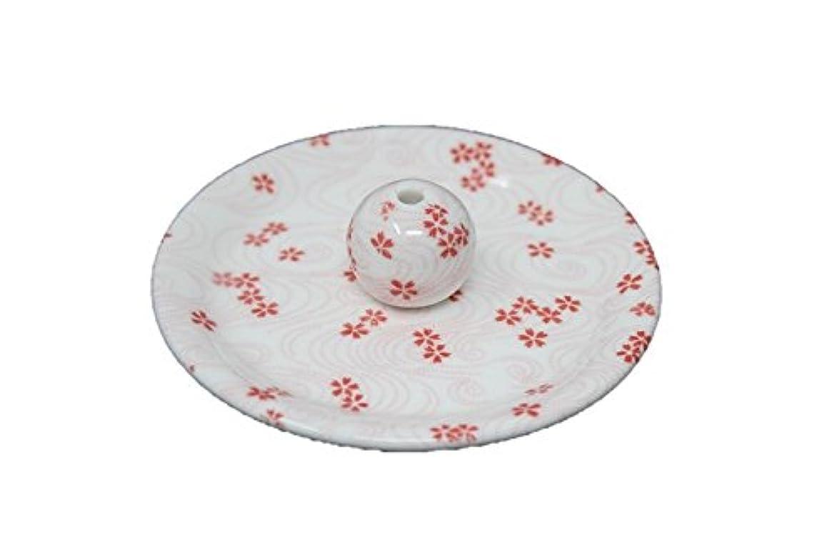 リファイン化粧麦芽9-34 桜渦 9cm香皿 お香立て お香たて 陶器 日本製 製造?直売品