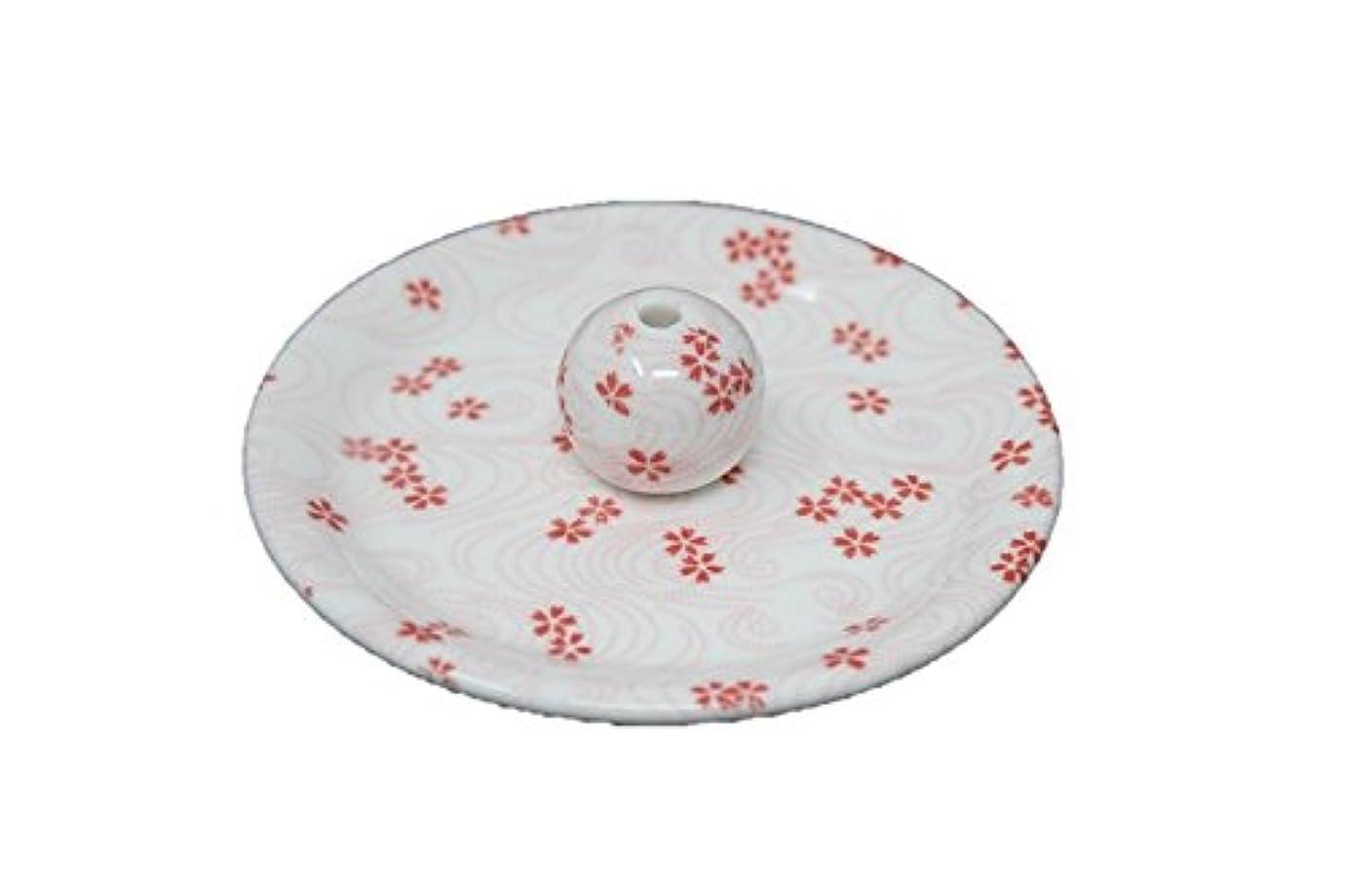 繕う滅多ホイール9-34 桜渦 9cm香皿 お香立て お香たて 陶器 日本製 製造?直売品