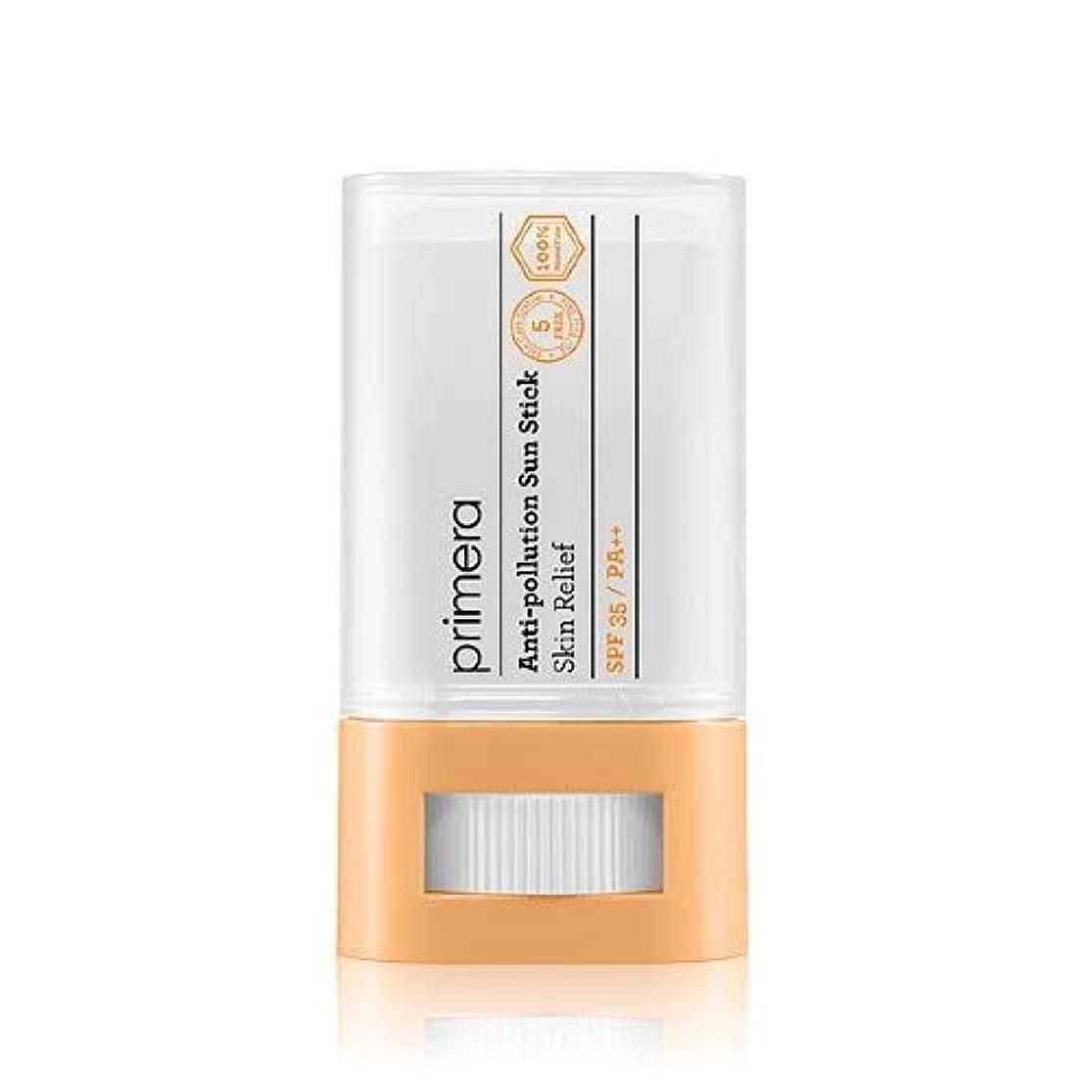 ペダル腸勇敢なPRIMERA プリメラ Skin Relief Anti-pollution Sun Stick サンスティック 16g, SPF35 PA++ 韓国日焼け止め