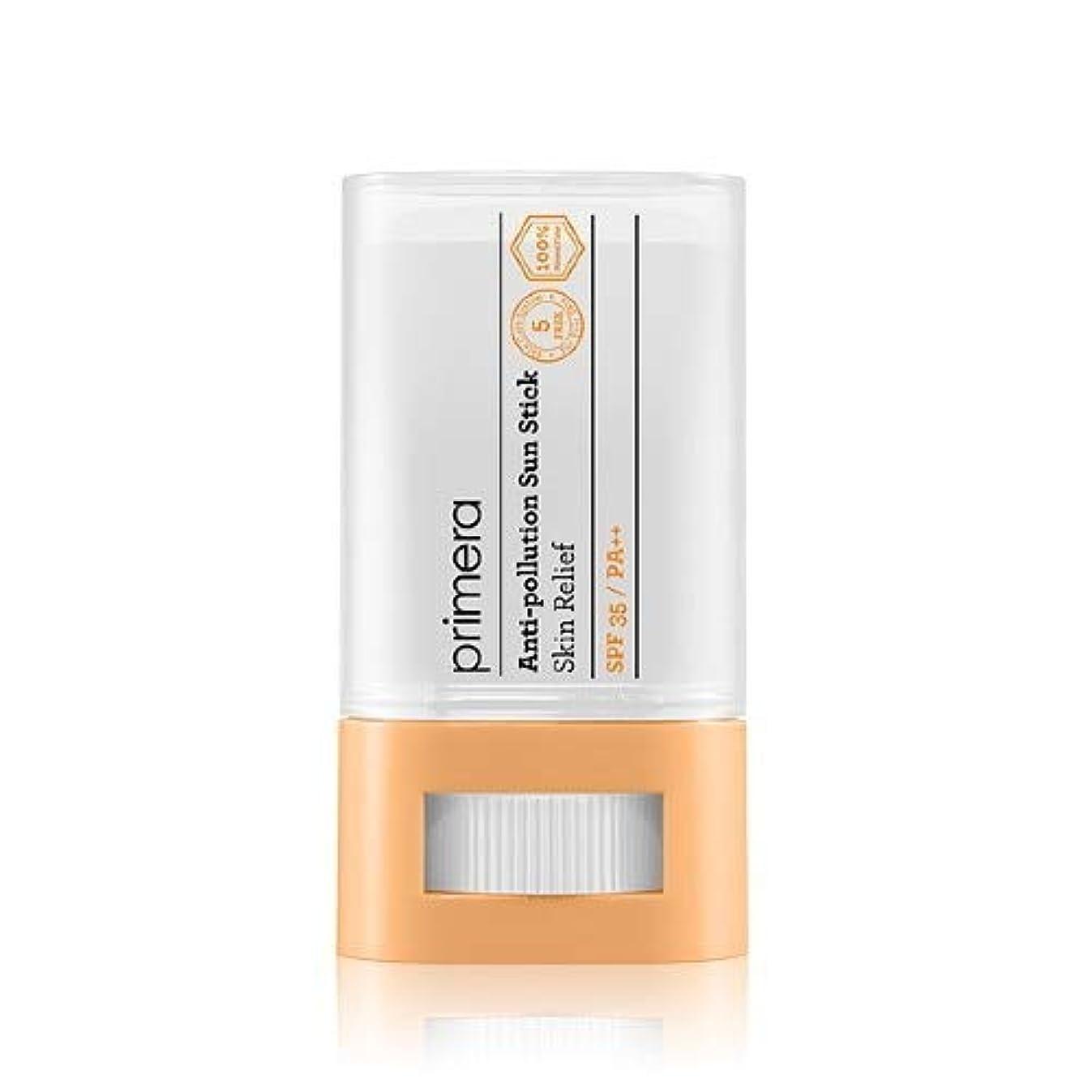 保守的現代ロデオPRIMERA プリメラ Skin Relief Anti-pollution Sun Stick サンスティック 16g, SPF35 PA++ 韓国日焼け止め