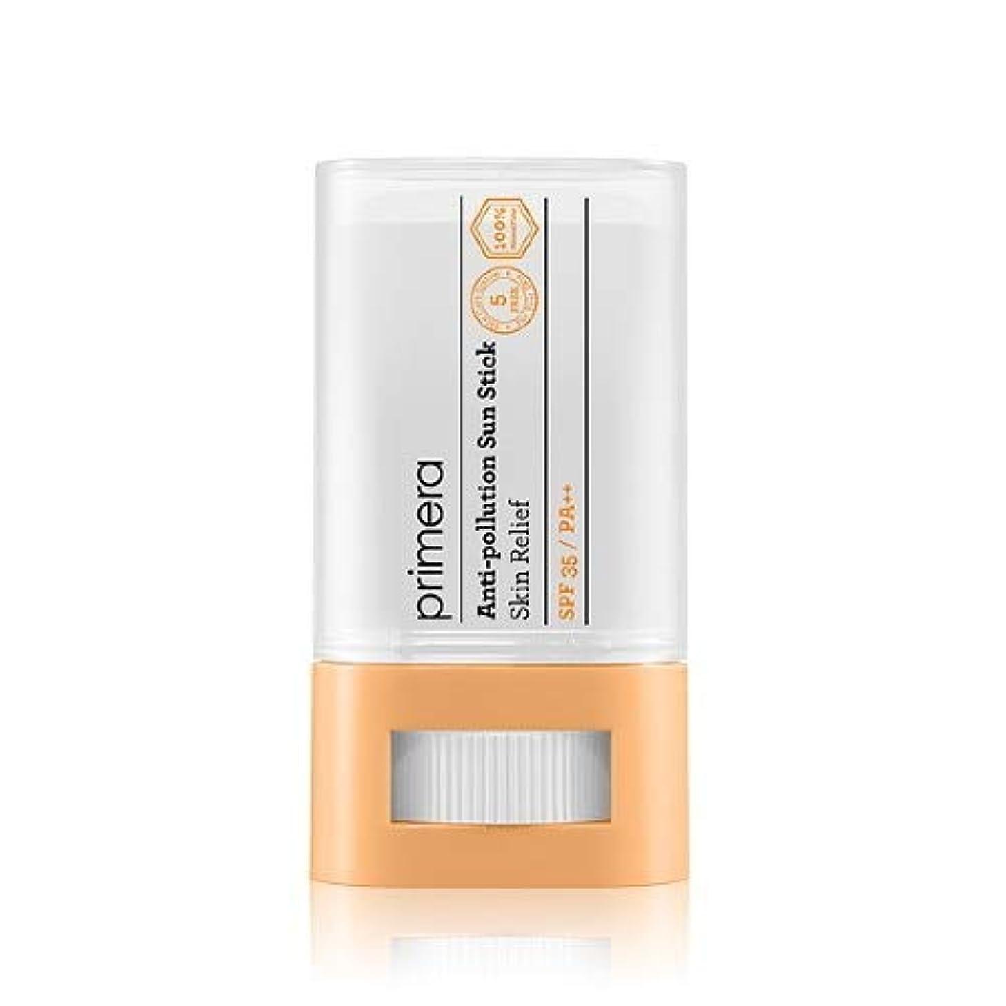 要求する先例動詞PRIMERA プリメラ Skin Relief Anti-pollution Sun Stick サンスティック 16g, SPF35 PA++ 韓国日焼け止め