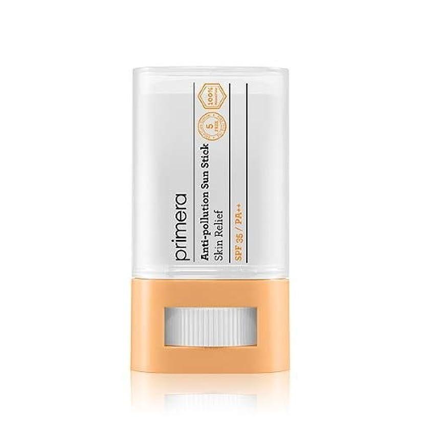 標準回転葉PRIMERA プリメラ Skin Relief Anti-pollution Sun Stick サンスティック 16g, SPF35 PA++ 韓国日焼け止め
