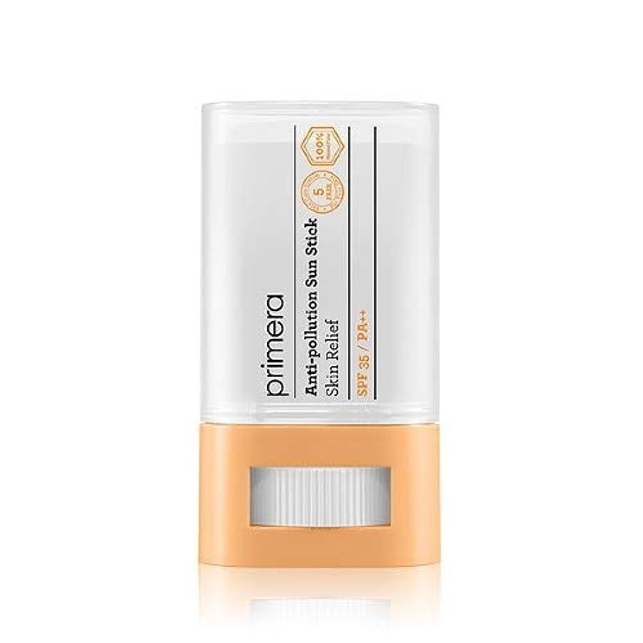 届けるプレゼンテーション熟達PRIMERA プリメラ Skin Relief Anti-pollution Sun Stick サンスティック 16g, SPF35 PA++ 韓国日焼け止め