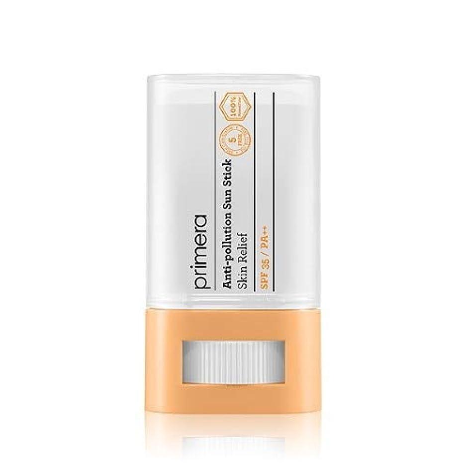 はちみつおもてなしつかの間PRIMERA プリメラ Skin Relief Anti-pollution Sun Stick サンスティック 16g, SPF35 PA++ 韓国日焼け止め