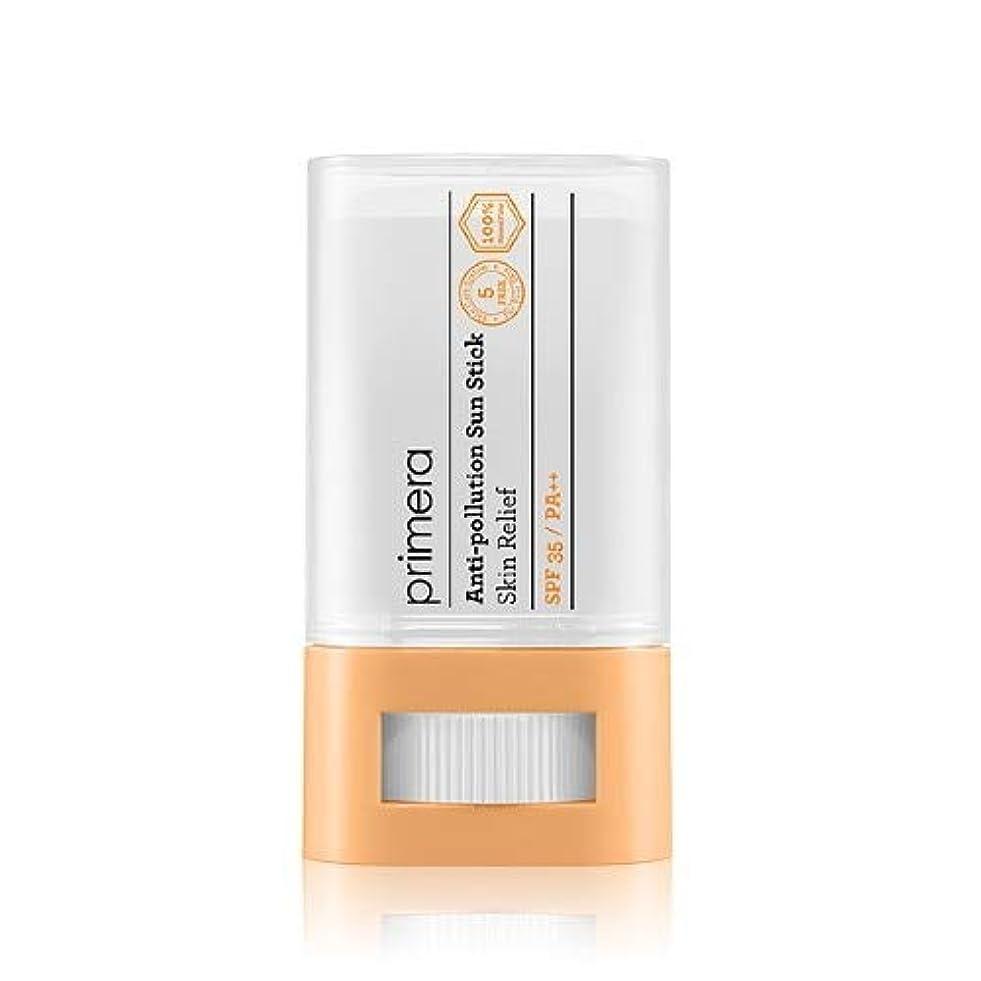 打撃コンパス版PRIMERA プリメラ Skin Relief Anti-pollution Sun Stick サンスティック 16g, SPF35 PA++ 韓国日焼け止め