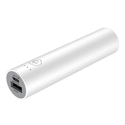 cheero Power Plus 3 stick 3350mAh 超軽量 モバイルバッテリー [ 高品質電池搭載 ] iPhone 8 / 7 / 7Plus / 6s / 6s Plus / 6 / 6 Plus / iPad / Android / Xperia / Galaxy / 各種スマホ / タブレット / ゲーム機 / Wi-Fiルータ 等 急速充電 対応 超コンパクト ハイパワー出力 AUTO-IC機能搭載