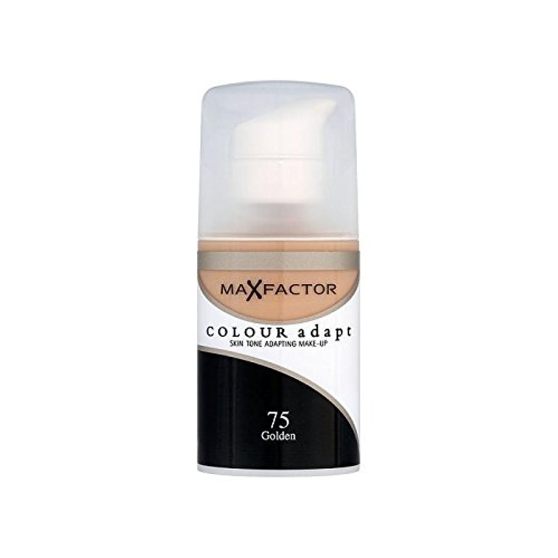 前売フルーツ野菜島Max Factor Colour Adapt Foundation Golden 75 (Pack of 6) - マックスファクターの色は、基礎黄金の75を適応させます x6 [並行輸入品]