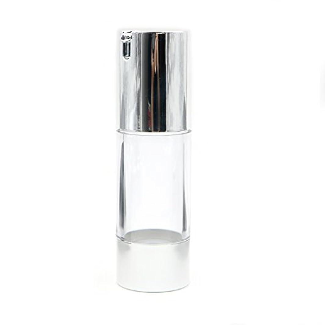 ピッチャー強調するAngelakerry エアレス 容器 ホワイト 30ml 手作りコスメ 手作り化粧品 詰め替え容器 5本セット [並行輸入品]